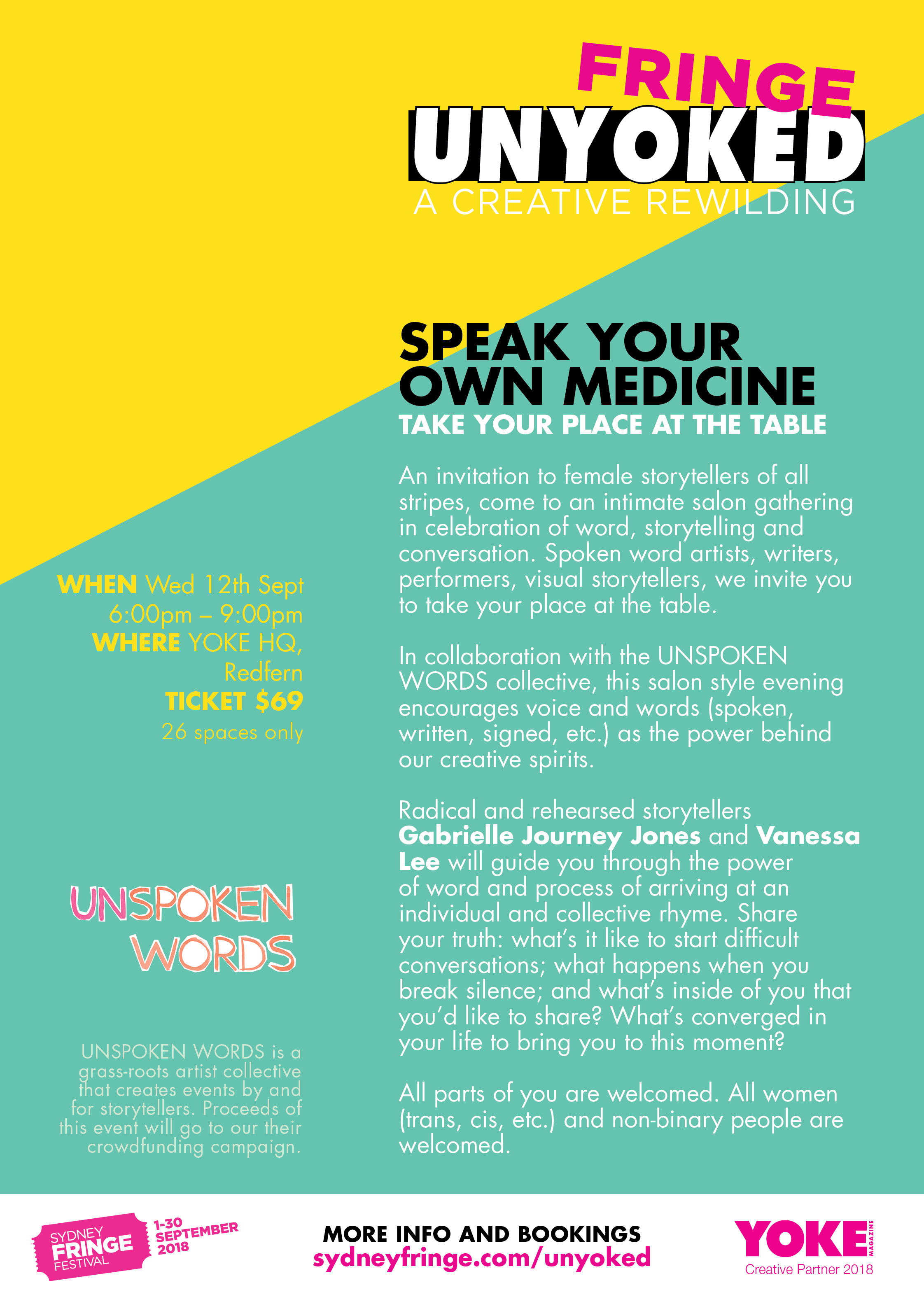 SuPPER Series_speak your medicine